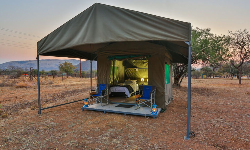 Tented Adventures at the Manyane Resort